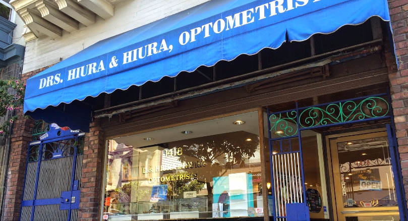 Drs. Hiura & Hiura Optometrists outside